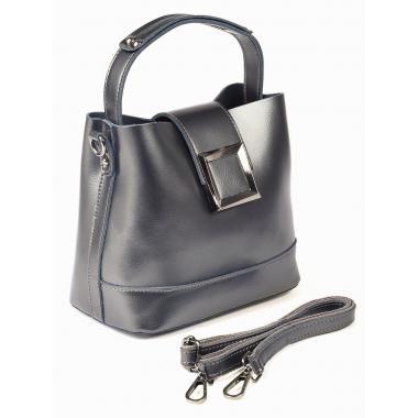 Женская кожаная сумка JULIA Кожа. Стальной