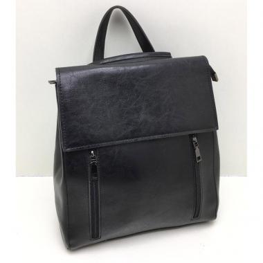 Женский рюкзак KASSY. Черный