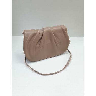 Женская кожаная сумка Kioto. Бежевый.