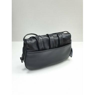 Женская кожаная сумка Kioto. Черный.