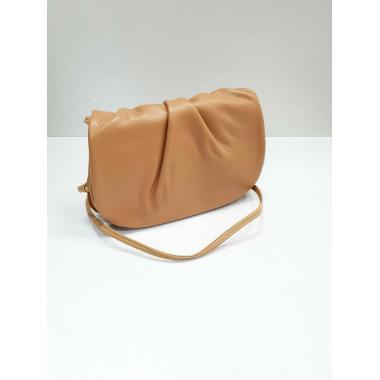 Женская кожаная сумка Kioto. Охра.