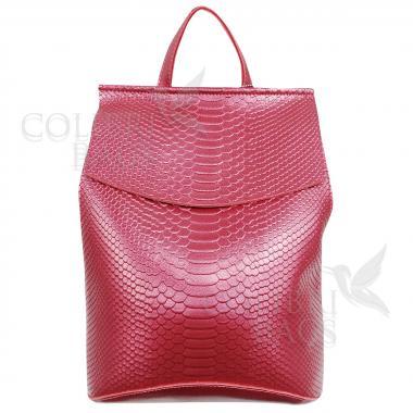 Рюкзак-трансформер Kristy. Красный перламутр