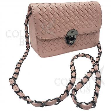 Женская сумка Lana Mini. Пудровый