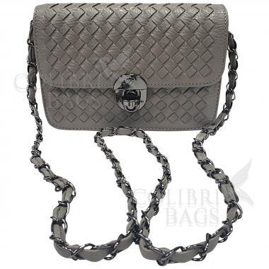 Женская сумка Lana Mini. Светло-серый