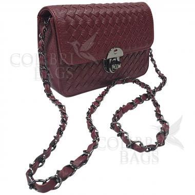Женская сумка Lana Mini. Винный