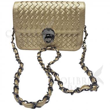 Женская сумка Lana Mini. Золото