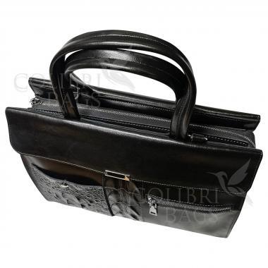 Женская кожаная сумка LIONELLA. Пепельный.