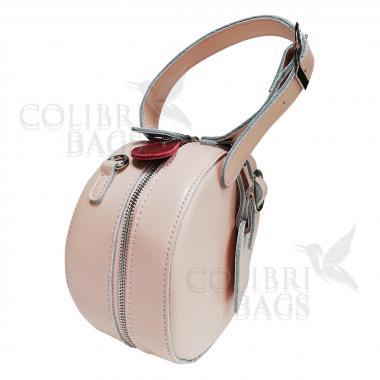 Женская кожаная сумка Lola. Lola. Нежно-розовый