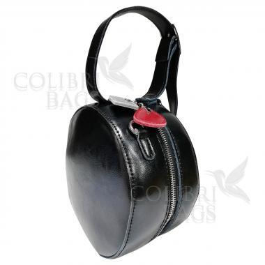 Женская кожаная сумка Lola. Черный