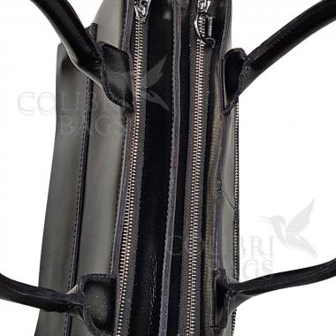 Женская кожаная сумка Losanna. Стальной