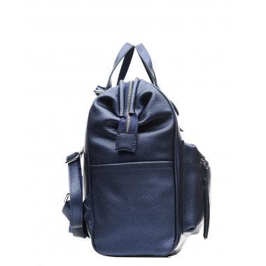 Кожаный рюкзак-трансформер MAMMIS. Сапфир