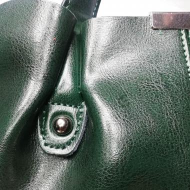 Женская сумка MADRID замша. Темно-зеленый