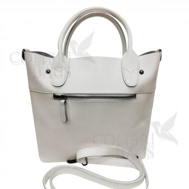 Женская кожаная сумка Milana Нова. Белый