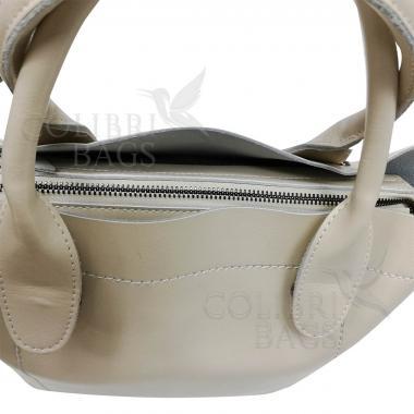 Женская кожаная сумка Milana Нова. Слоновая кость