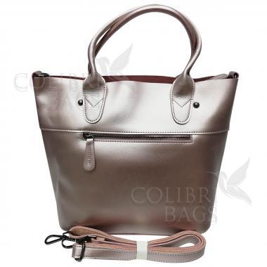 Женская кожаная сумка Milana Нова. Жемчуг