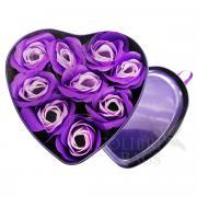 Набор Сердце 9шт. Пурпурный.