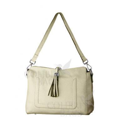 Женская кожаная сумка NIAGARA. Слоновая кость