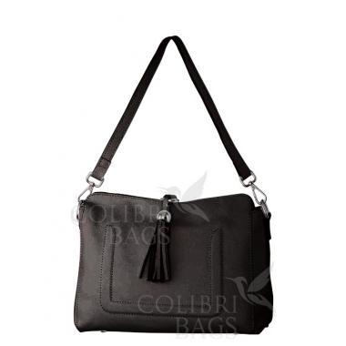 Женская кожаная сумка NIAGARA. Шоколад