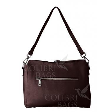Женская кожаная сумка NIAGARA. Винный