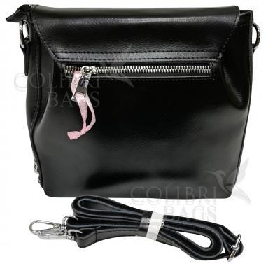Женская кожаная сумка Norma. Черный