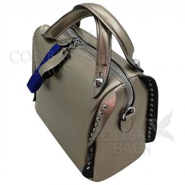 Кожаная сумка Rodrigo. Бронза.