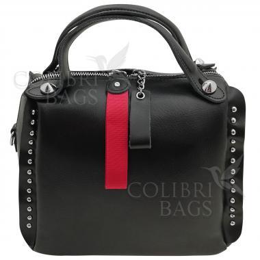 Кожаная сумка Rodrigo. Черный.