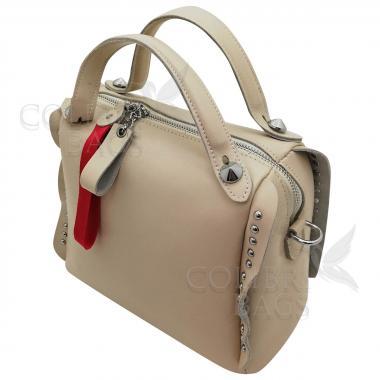 Кожаная сумка Rodrigo. Слоновая кость.