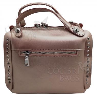 Кожаная сумка Rodrigo. Жемчуг.