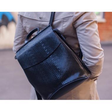 Рюкзак-трансформер Kristy. Черный