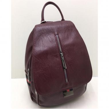Женский рюкзак RUNKI. Гранат