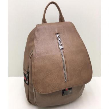 Женский рюкзак RUNKI. Песочный