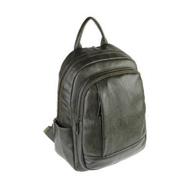 Женский рюкзак RUNKI AMOS. Темно-зеленый