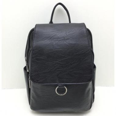 Женский рюкзак RUNKI RING. Черный