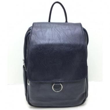 Женский рюкзак RUNKI RING. Темно-синий