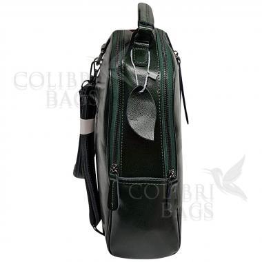 Рюкзак-трансформер   Seoul. Темно-зеленый