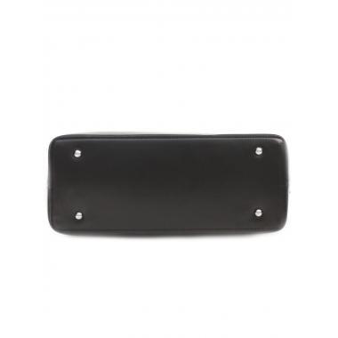 Женская кожаная сумка SESIL. Черный
