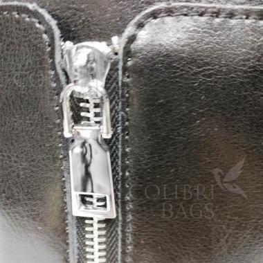 Женская кожаная сумка Siena. Черный