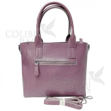 Женская кожаная сумка Siena. Сиреневый