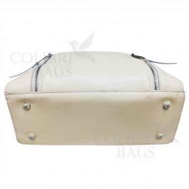 Женская кожаная сумка Siena. Слоновая кость
