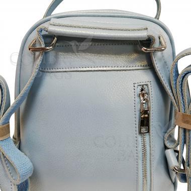 Рюкзак-трансформер SIMONA. Голубой перламутр