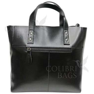 Женская кожаная сумка Sirena Nova. Черный