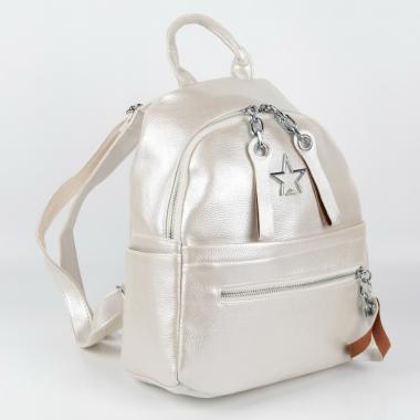 Рюкзак Star. Белый перламутр