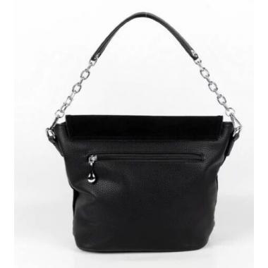Женская кожаная сумка STARLETT. Черный