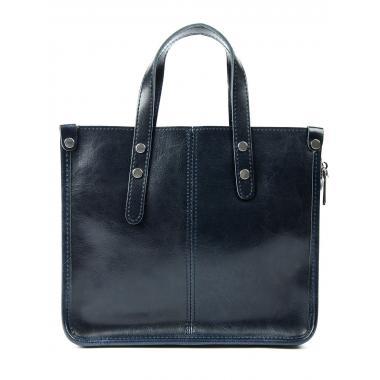 Женская кожаная сумка STEN ЗАМША. Черный