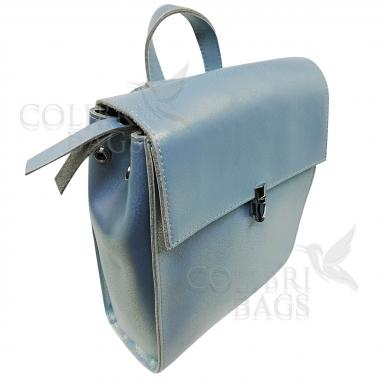 Рюкзак SUMMER ELEGANT MINI. Голубой перламутр.