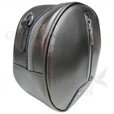 Кожаный рюкзак-трансформер Sunset. Бронза