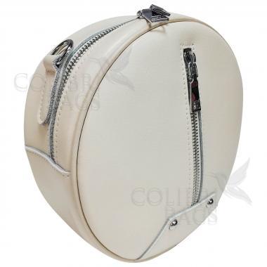 Кожаный рюкзак-трансформер Sunset. Слоновая кость