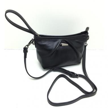 Женская кожаная сумка SURIA. Черный