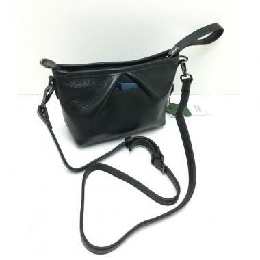 Женская кожаная сумка SURIA. Темно-зеленый