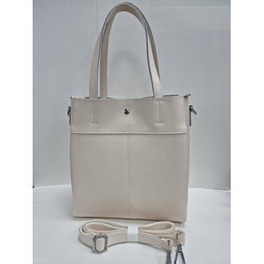 Женская кожаная сумка Sven. Слоновая кость